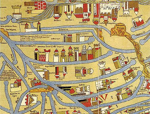 középkori magyarország térkép Térképek középkori magyarország térkép