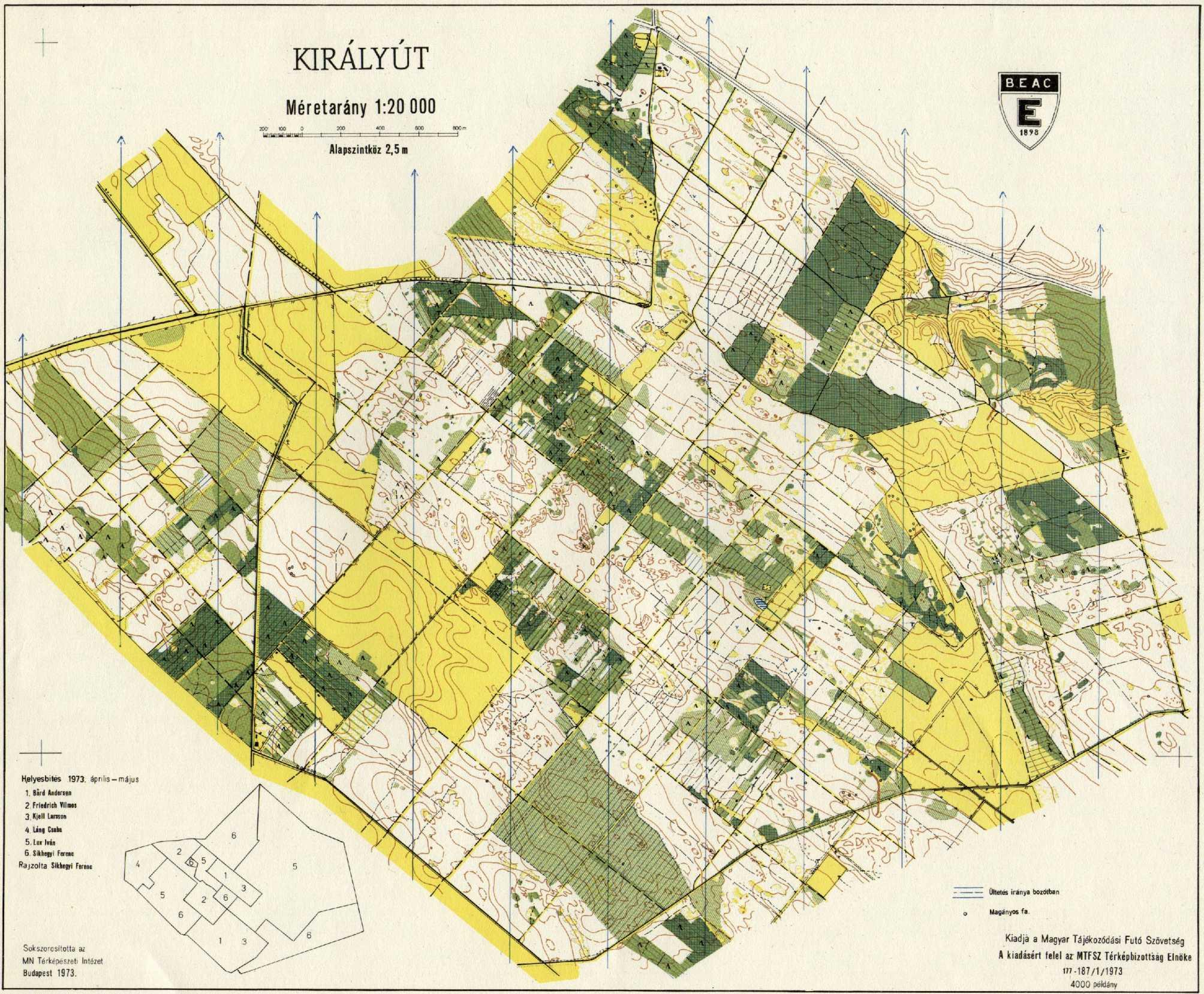 szigetszentmiklós térkép Vereszki Tibor: A tájékozódási futó térképek története (2001) szigetszentmiklós térkép