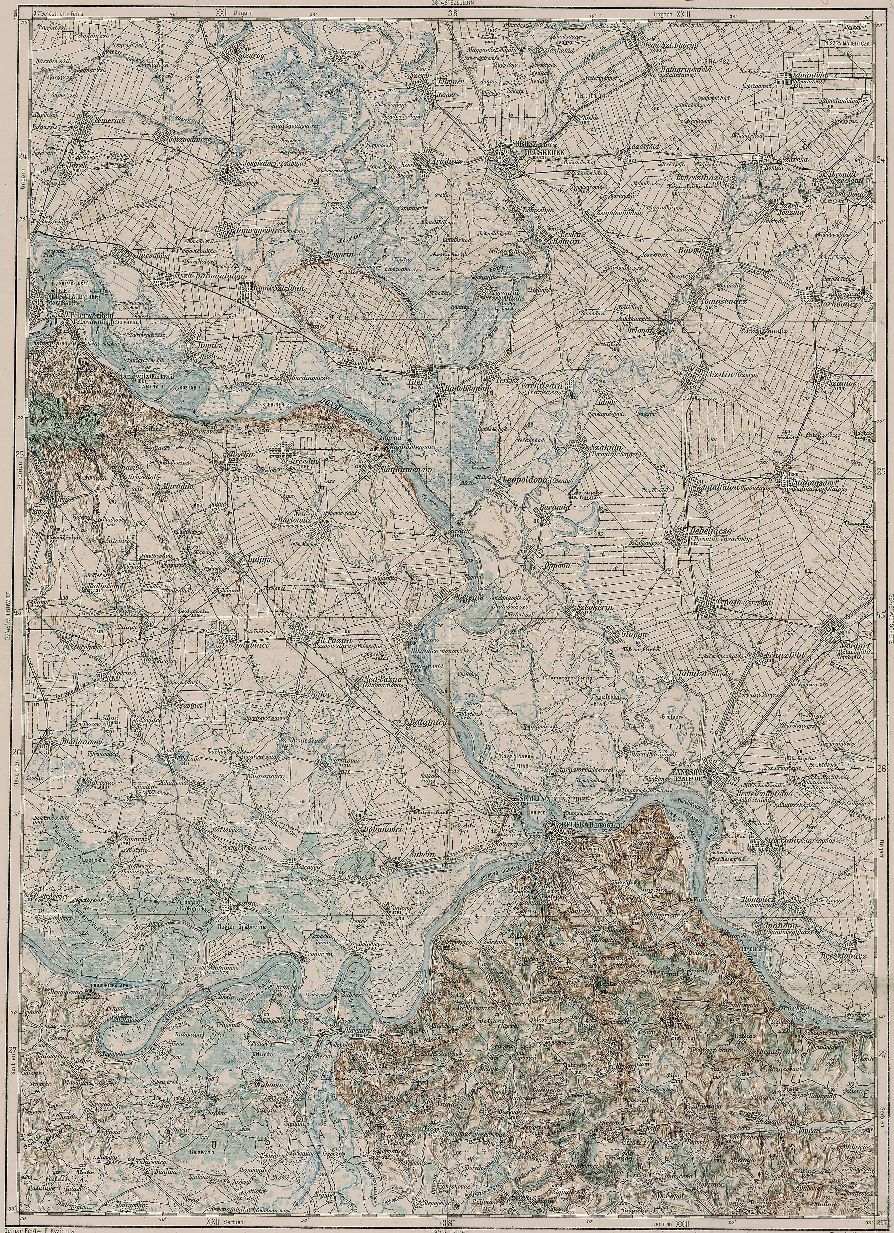 Radixhub Banatski Despotovac Maps
