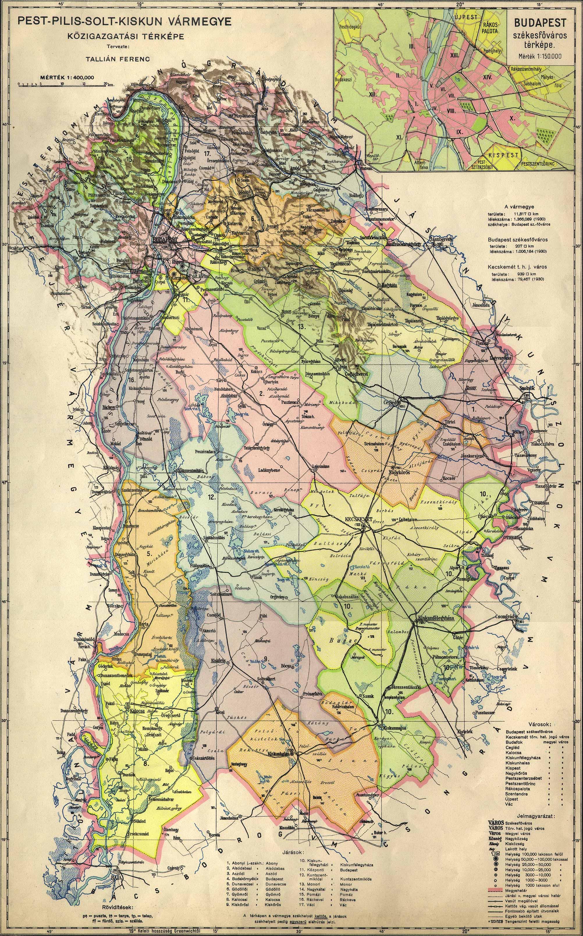 Osztrak Magyar Monarchia Varmegyei 1910