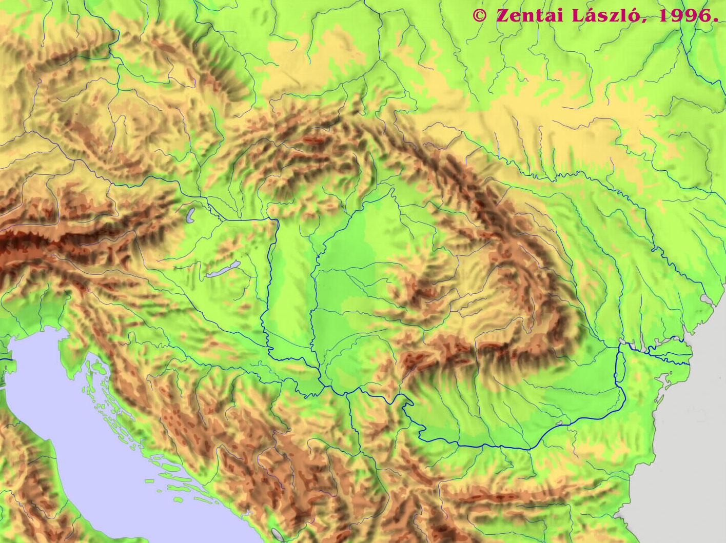 magyarország domborzati térkép letöltés Online térképek: Kárpát medence domborzati térkép magyarország domborzati térkép letöltés