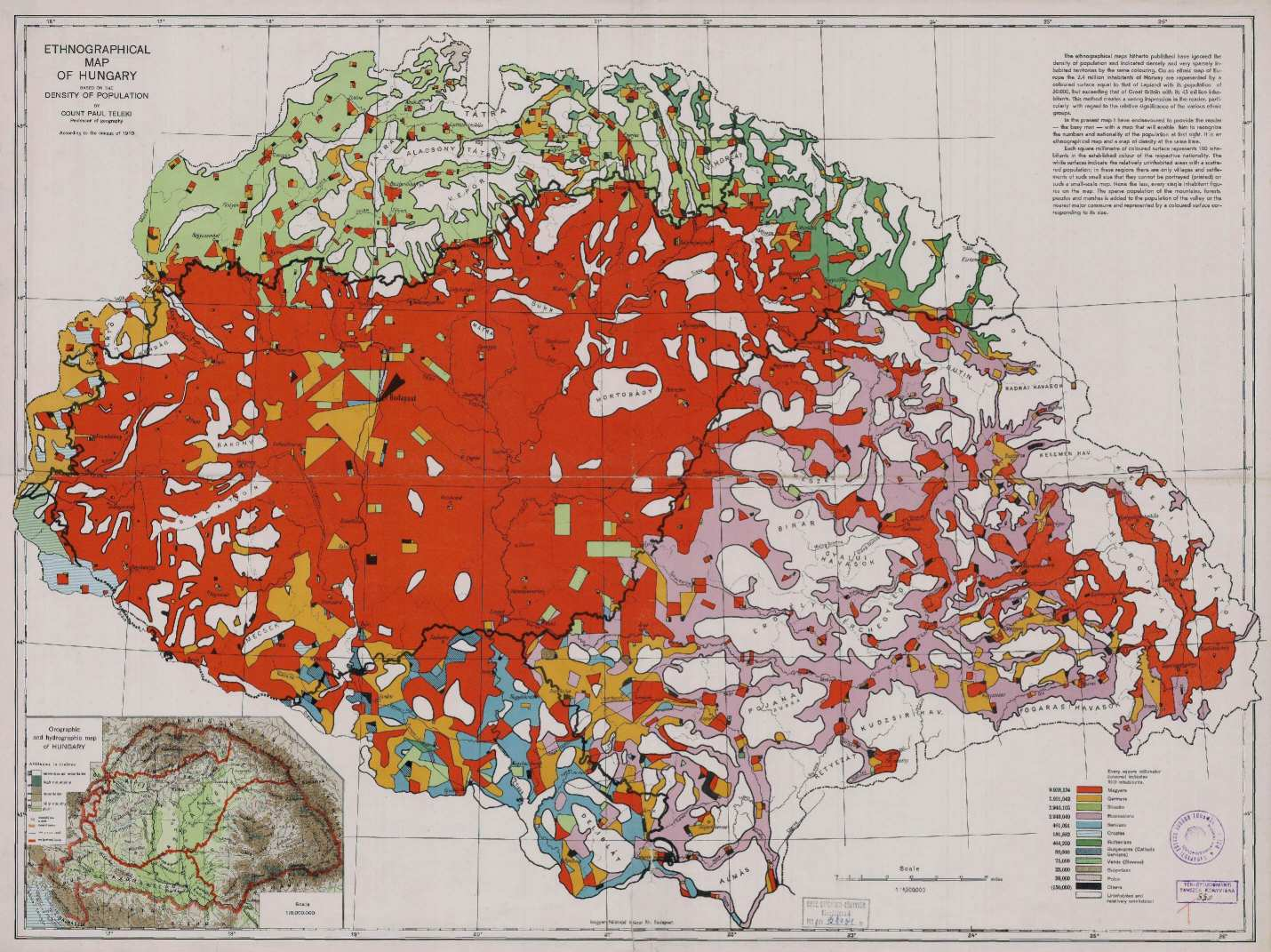 magyarország térkép 1920 Maps of the 20th century magyarország térkép 1920