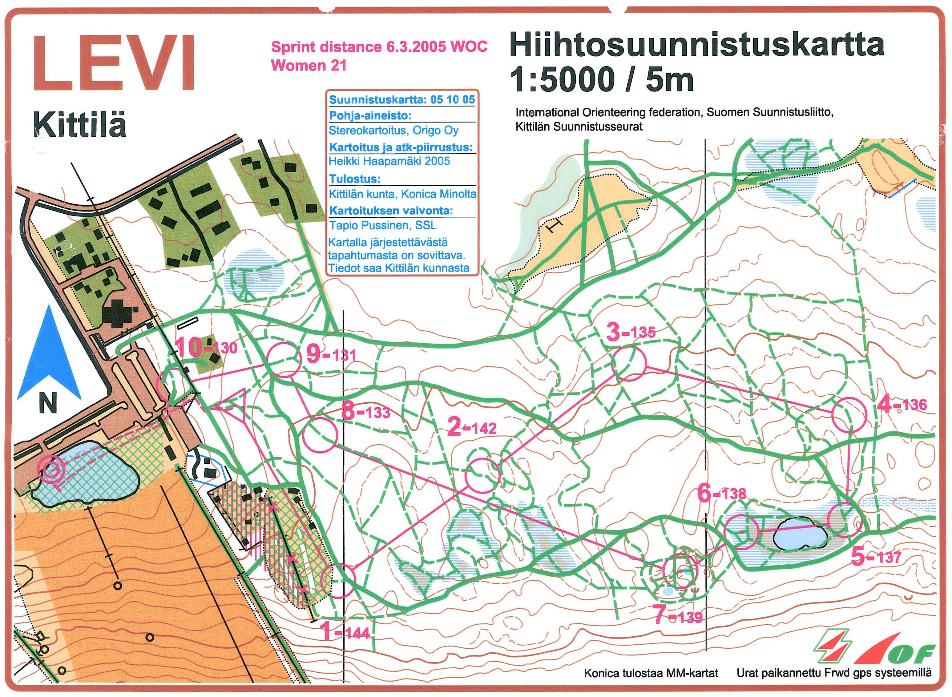 Kart O Teka Levi Kittila Finland
