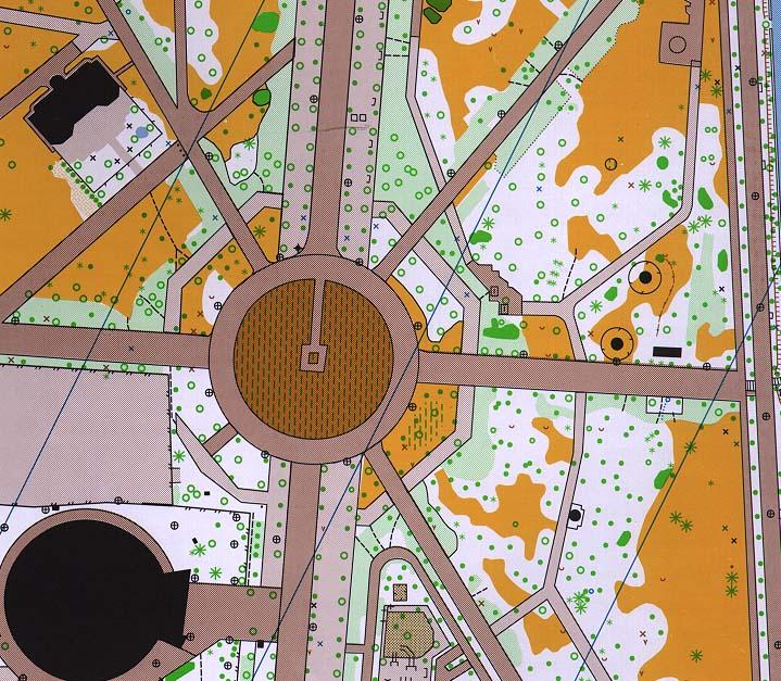 eger érsekkert térkép Hungarian O maps (1996) eger érsekkert térkép