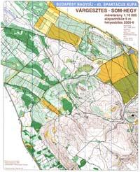 várgesztes térkép Tájfutó térképek 2006 várgesztes térkép