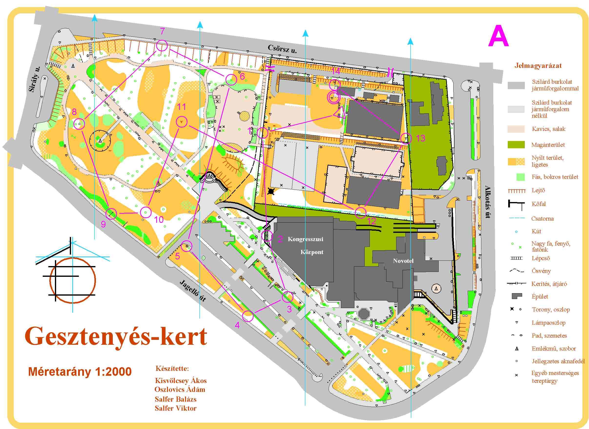 mom park térkép 3Sz   2004 mom park térkép