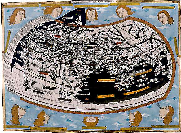 Ulm Ptolemy World Map 1482