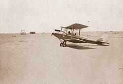 'Rupert' landing at Bir Messaha, 1932