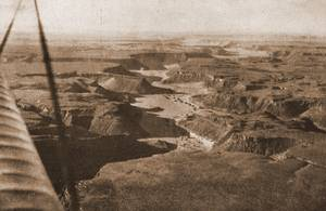 Wadi Abd el Malik from air, 1932