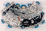 The Bologna Ptolemy world map